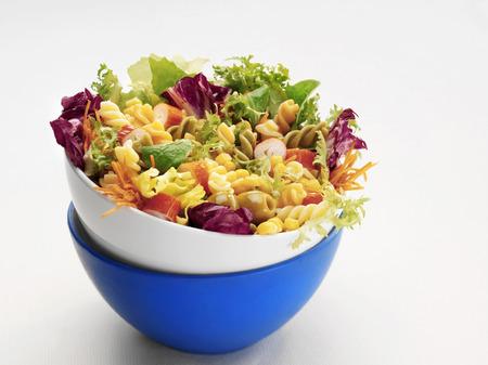 zea mays: Pasta, vegetable and sweetcorn salad