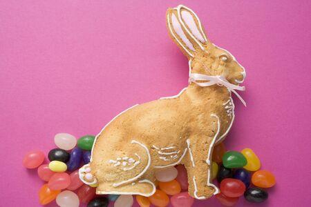 jelly beans: Baked Easter Bunny e fagioli di gelatina