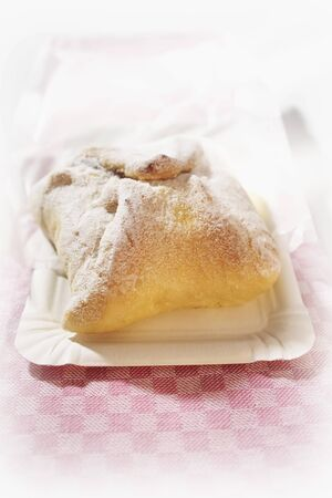 turnover: Quark turnover with icing sugar LANG_EVOIMAGES