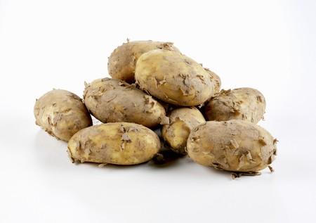 royals: Fresh potatoes (Jersey Royals)