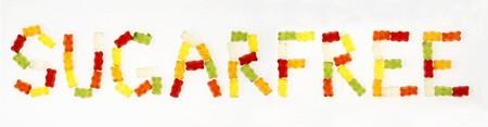 gummi: 'Sugarfree' scritto in orsi Gummi