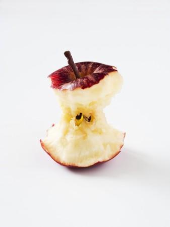 apple core: An apple core (Royal Gala)