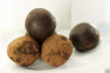 trufas de chocolate: Trufas de chocolate LANG_EVOIMAGES