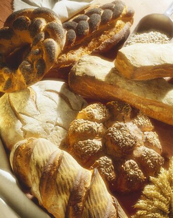 Still life with assorted baked goods LANG_EVOIMAGES