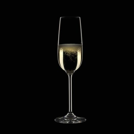 champers: A glass of sparkling wine
