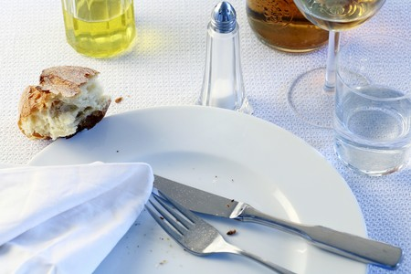 leftovers: Empty plate LANG_EVOIMAGES