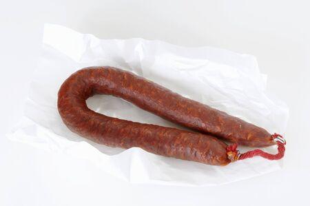 chorizo: Chorizo on paper
