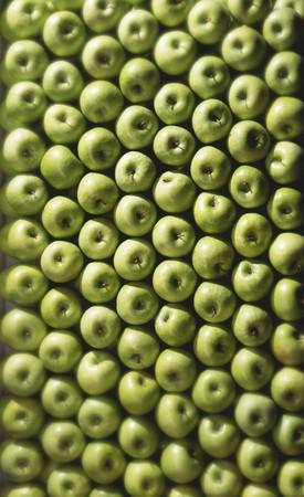 granny smith: Granny Smith apples (full-frame)