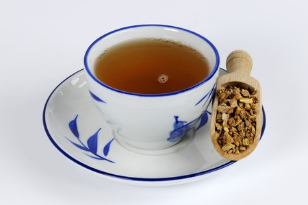 complementary therapy: Woad root tea (Isatidis Radix) LANG_EVOIMAGES