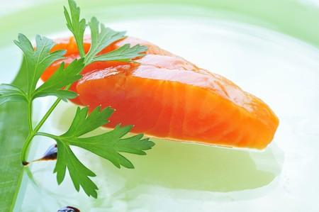 saumon fum�: Saumon fum� pour le sashimi LANG_EVOIMAGES