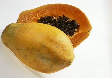halved: Halved papaya LANG_EVOIMAGES