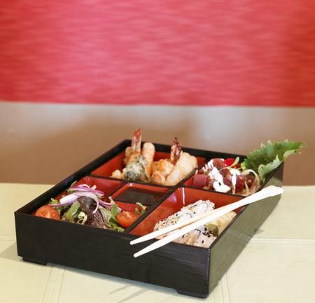 bento box: Seafood Sushi Bento Box