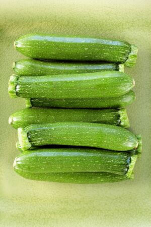 courgettes: Many courgettes from above