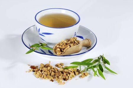 chuan: Tea made with dried pagoda tree fruit (Chuan Lian Zi, China)