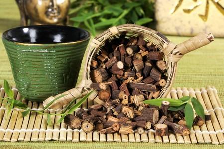 teng: Tea and dried root of Polygonum multiflorum