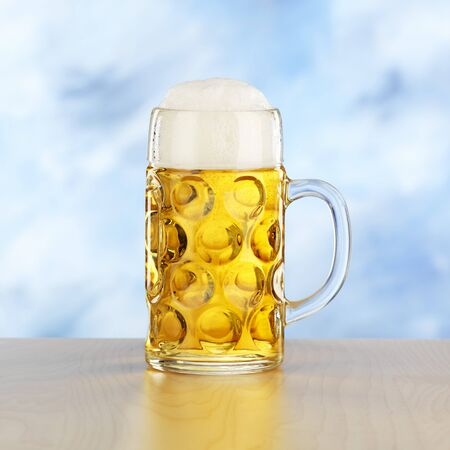 steins: A litre of beer