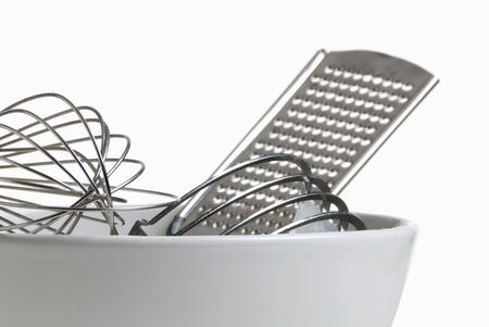 kitchen tools: Assorted Kitchen Tools in a Bowl