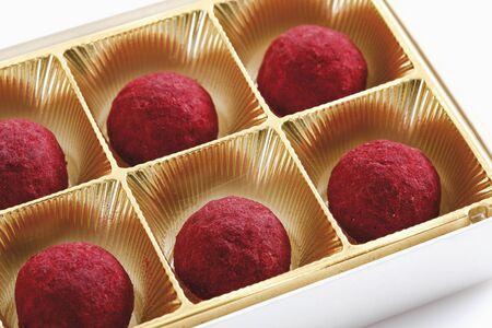 trufas de chocolate: Trufas de chocolate en caja LANG_EVOIMAGES