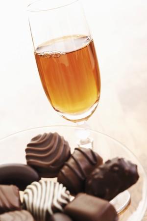 sherry: Sherry and chocolates