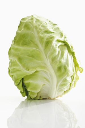 glass topped: A pointed cabbage