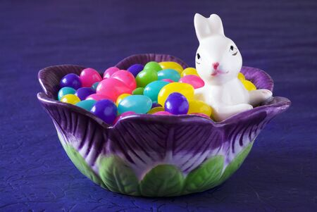 jellybean: Jelly beans in bowl (Easter)