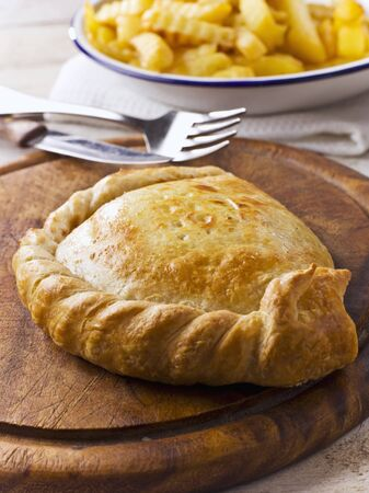 pasty: Cheese and onion pasty LANG_EVOIMAGES