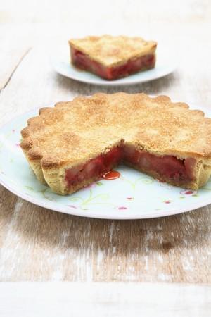 Rhubarb pie LANG_EVOIMAGES