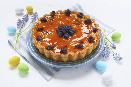 crystallized: Crostata di riso (Caramelised rice tart, Italy)