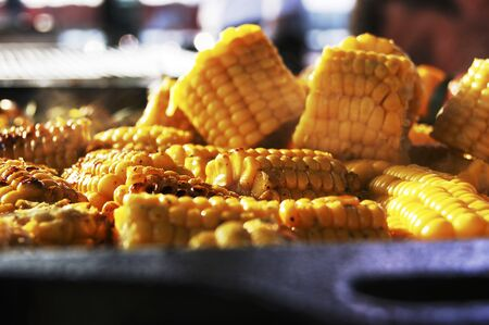 qs: Grilled corn on the cob