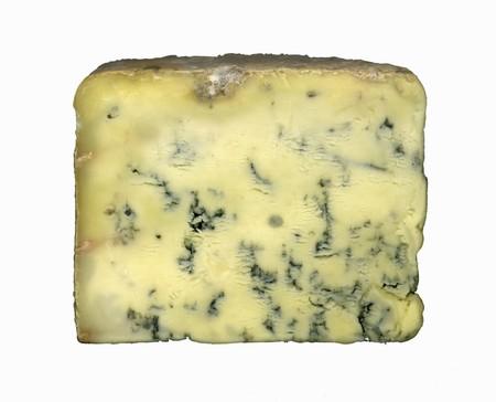 stilton: A slice of Stilton cheese