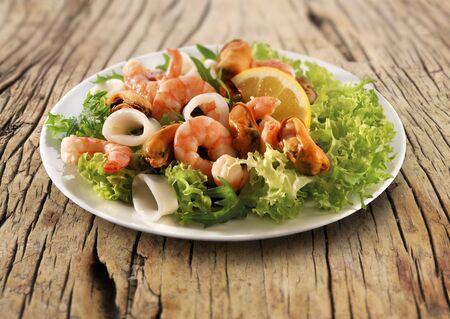 calamares: Seafood salad