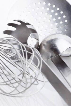 kitchen tools: Een assortiment van keuken gereedschappen LANG_EVOIMAGES
