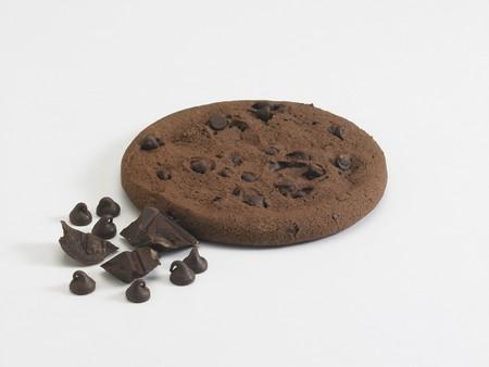 galletas: Botones de Chocolate Fudge Galleta con trozos de chocolate y las virutas de chocolate