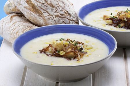 chowder: Corn chowder