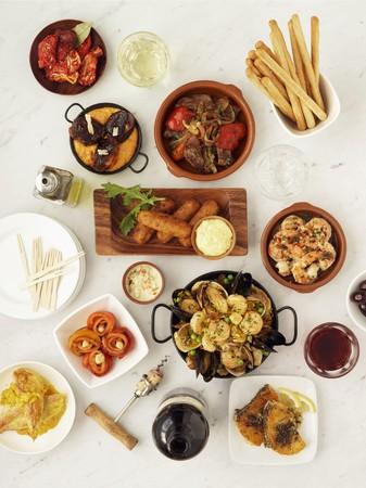 western european: Assorted tapas (Spain)