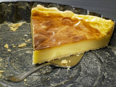 moroccan cuisine: Milk tart