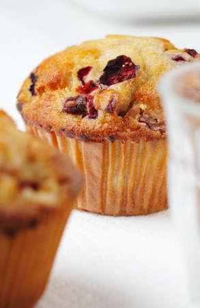 vaccinium macrocarpon: Cranberry muffins LANG_EVOIMAGES