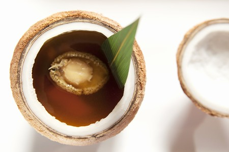 chicken soup: Chicken Soup Coconut abalone