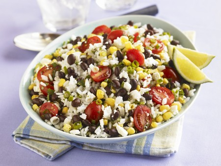 zea: Southwestern Rice Salad with Black Beans, Corn and Tomatoes