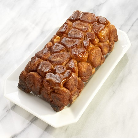 turned out: Loaf of Monkey Bread with Caramelized Sugar Topping