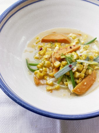 zea: Sweet potato, sweetcorn and spring onion stew LANG_EVOIMAGES