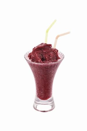 brambleberries: A blackberry ice cream shake