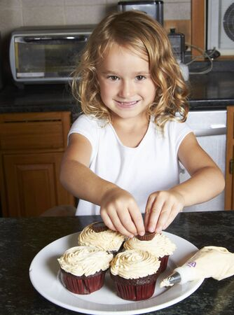 five year old: Cinco a�os Chica Decoraci�n Cupcakes
