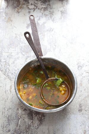 watercress: Watercress soup from the Canary Isles LANG_EVOIMAGES