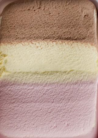 parlours: Neapolitan ice cream (full frame)