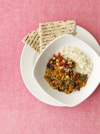 garbanzos: Chana dal (plato de verduras con garbanzos, India) LANG_EVOIMAGES