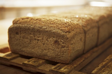 several breads: Loaves of bread LANG_EVOIMAGES