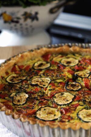cocozelle: Mediterranean vegetable quiche LANG_EVOIMAGES