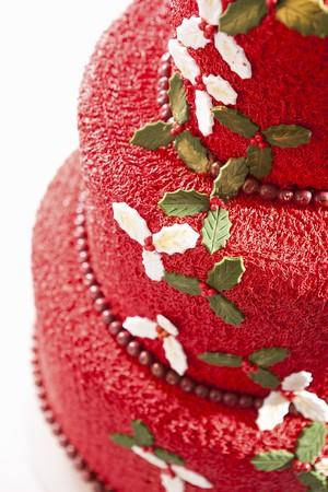 chinese holly: Cream cake