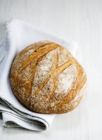 french bread boule: Boule (French white bread)